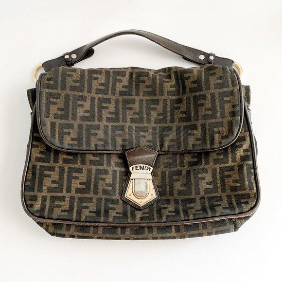 Fendi Handbags - Fendi Large Baguette Bag